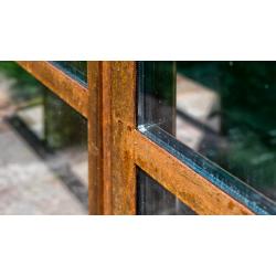 Cortenfenster mit...