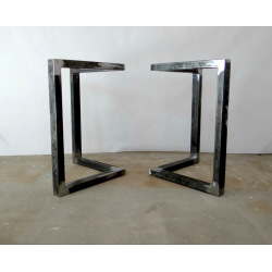 Quadratischer Tischgestell aus Metall Typ 4