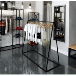 Stahlbügel für Geschäfte und Umkleideräume model 3