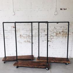Stahlbügel für Geschäfte und Umkleideräume model 2