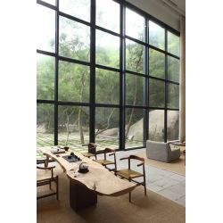 Industrietore aus Metall mit Glas - zweireihig 1