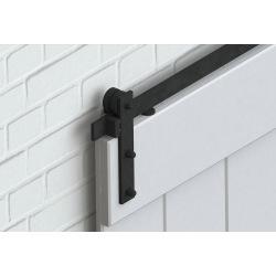 Retro Barn Stahlschiebesystem, für eine Tür