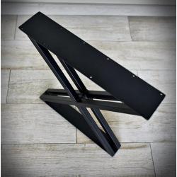 Stahlfuß für Esstisch Typ X 17