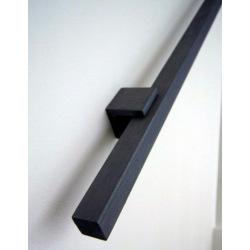 Schwarzes Stahlgeländer Typ 8