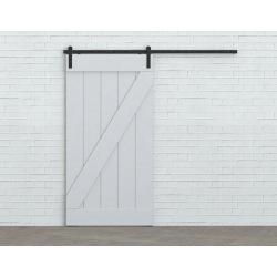 Schiebetürbeschlagsystem Retro Barn 80, für eine Tür