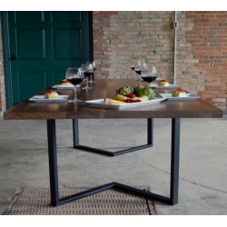 Quadratische Tischbeine aus...