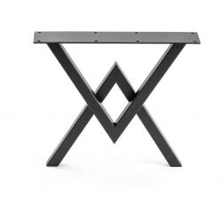 Stahlbeine zum Tisch 2V...